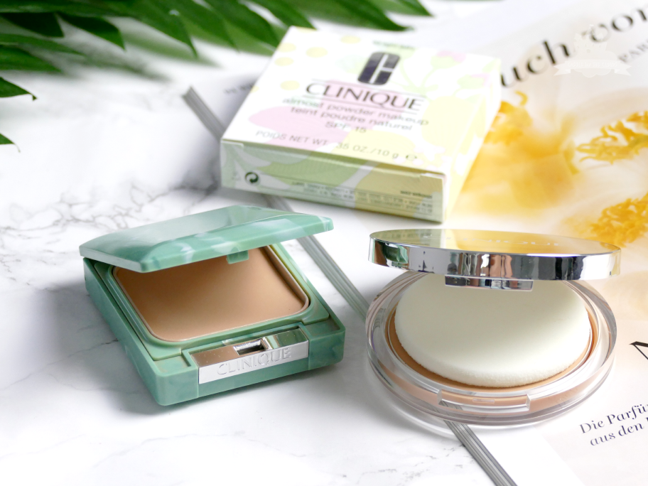 Clinique Almost Powder Makeup Verpackung