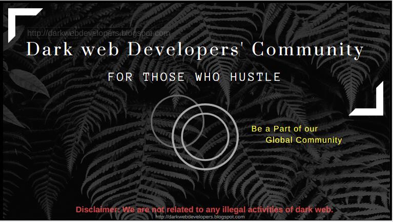 Darkweb Developers: Join us