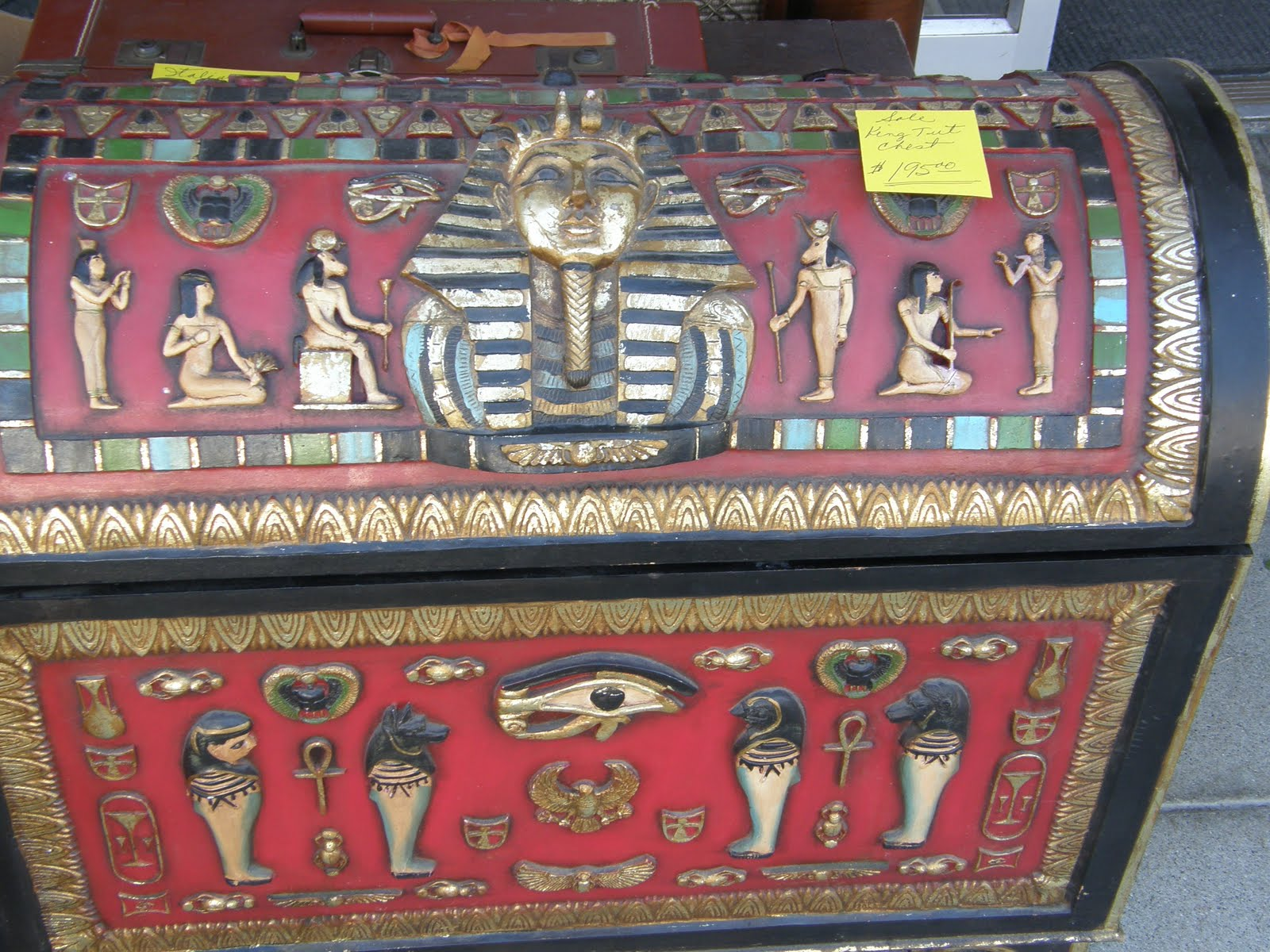 Antiques Egyptian Trunk