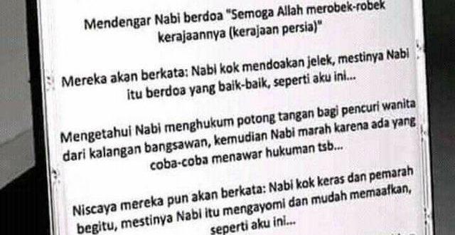 Viral di Sosmed: Ciri-Ciri Musuh Islam Zaman Now!