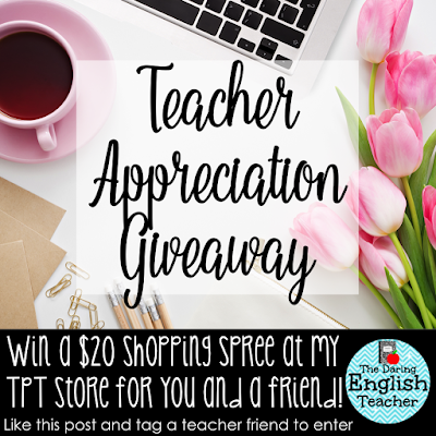 Teacher appreciation week 2016 Giveaway.