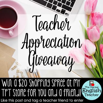 Teacher appreciation week 2016 Giveaway.