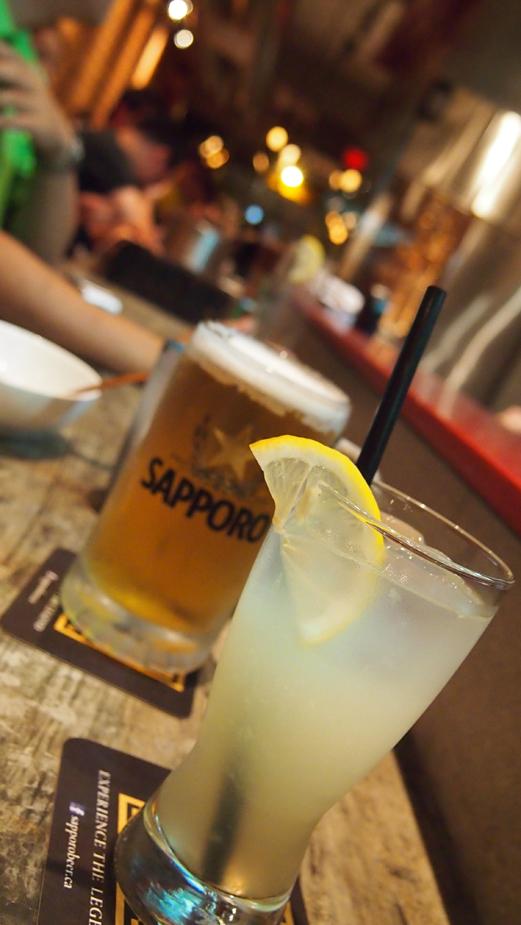 Kinton Ramen house lemonade