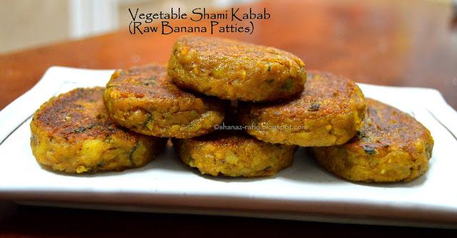 Vegetable Shami Kabab