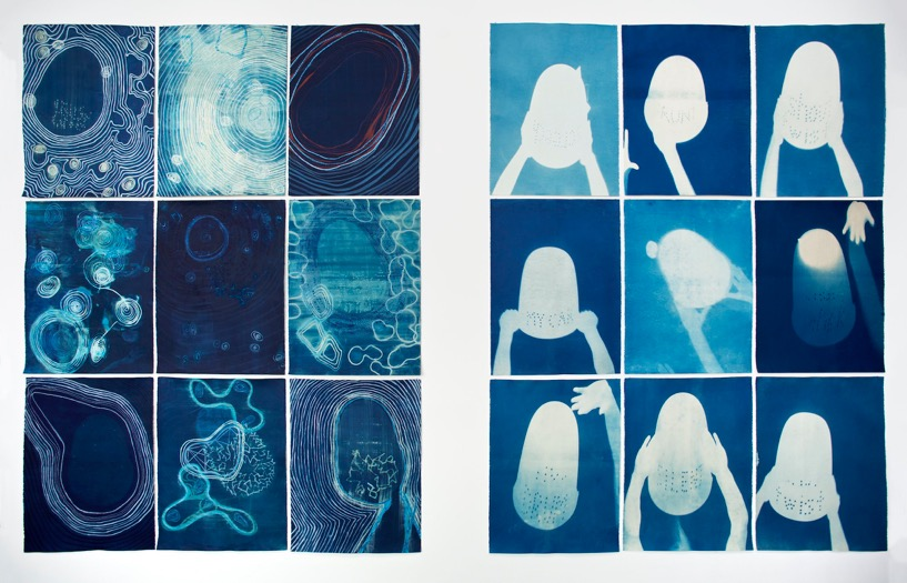 Ultimo project studios 2017 sue pedley cyanotype prints malvernweather Gallery