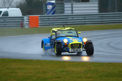 Extreme Wet Conditions at Snetterton 300 circuit in my 2018 Caterham Roadsport