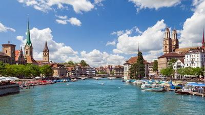 Zurich sông xanh