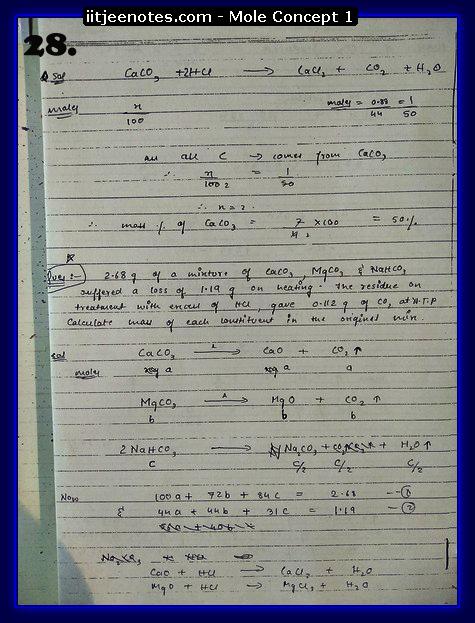 Mole Concept Notes11