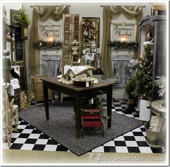 Antique Ideas: Booth Crush: 5 Easy Tips For Staging A Booth Like A Pro