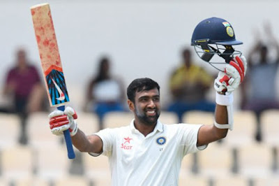 Ashwin Scored his Fourth Century