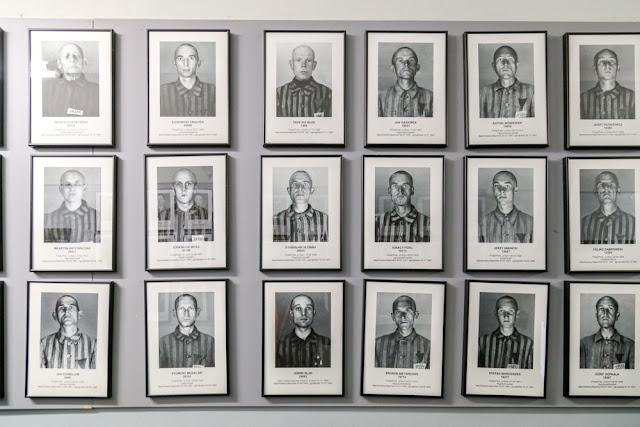 primi internati campo di concentramento auschwitz scarpe ebrei prigionieri