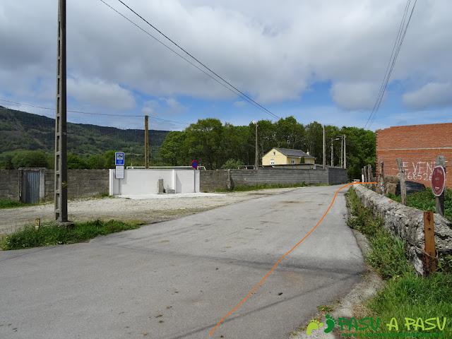Ruta de los Castros: Campo de fútbol de Llaviada