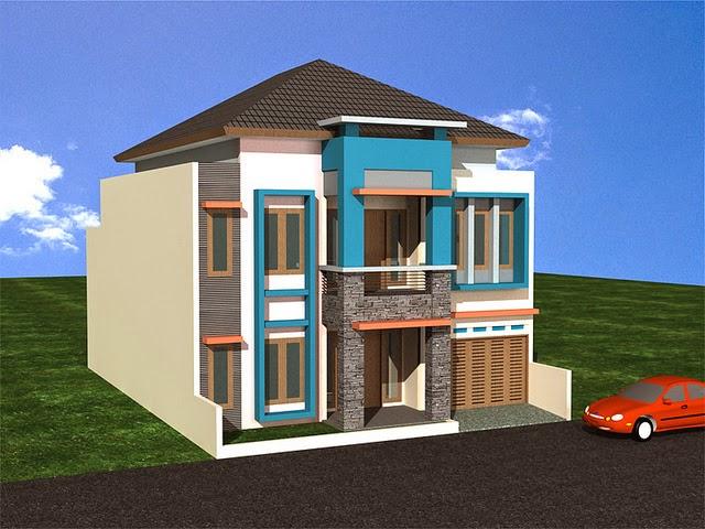 Gambar Desain dan Denah Rumah Minimalis Modern Type 60 ...
