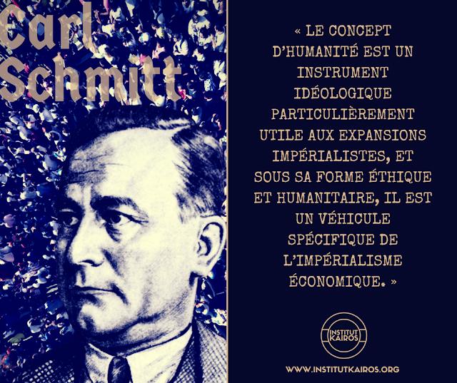 Carl Schmitt humanité