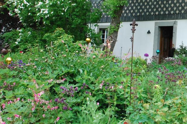 domy przysłupowe, ogrody wiejskie, domy szachulcowe, pruski mur, Obercunnersdorf, zielona metamorfoza