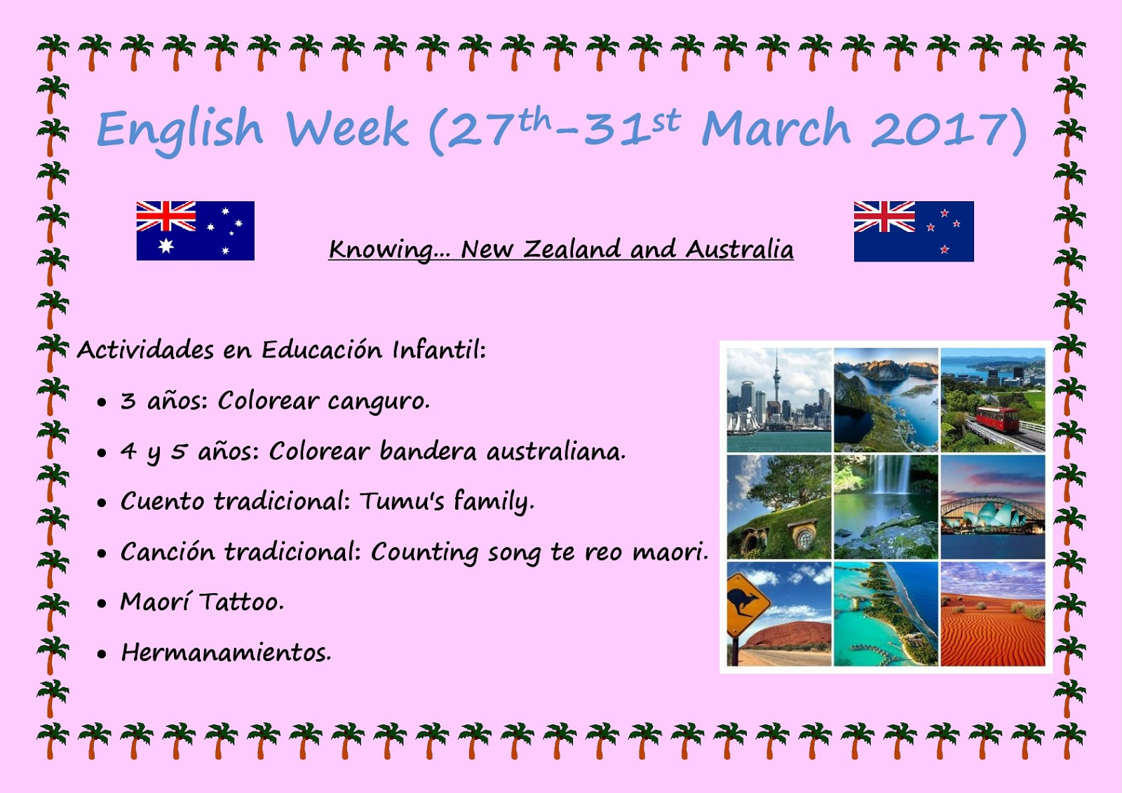 Life in English: English Week