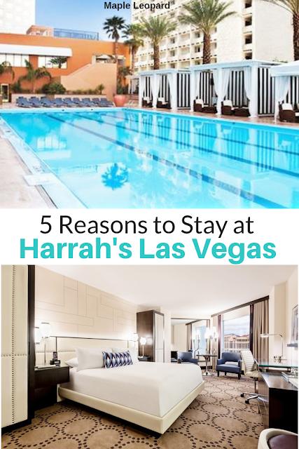Harrahs, Las Vegas, hotelreview, travelwriter