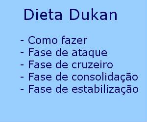 Dieta Dukan como fazer
