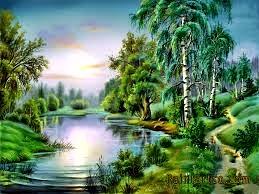 لوحات زيتية للطبيعة لوحات عالمية عن الطبيعة