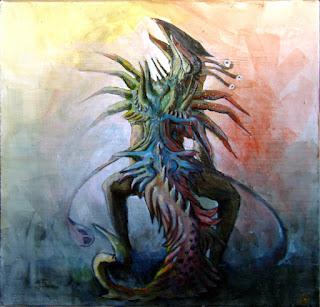 Une représentation de Glaaki par Carloscara