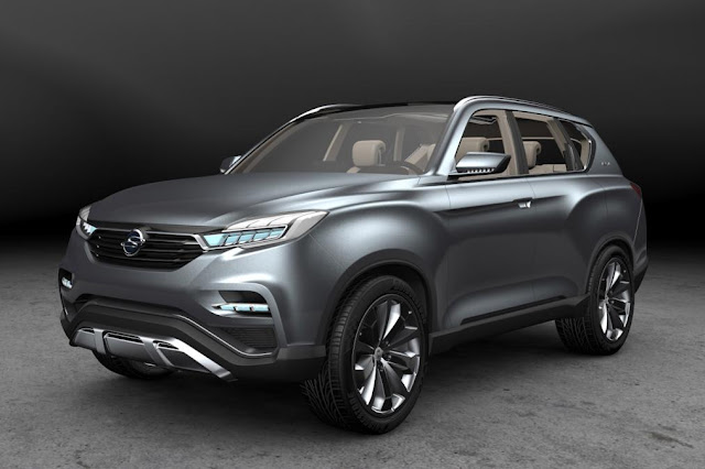 2017 New SsangYong Rexton Generation on Debut pront view