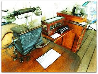Telefone de Mesa Ericsson no Museu do Trem, São Leopoldo
