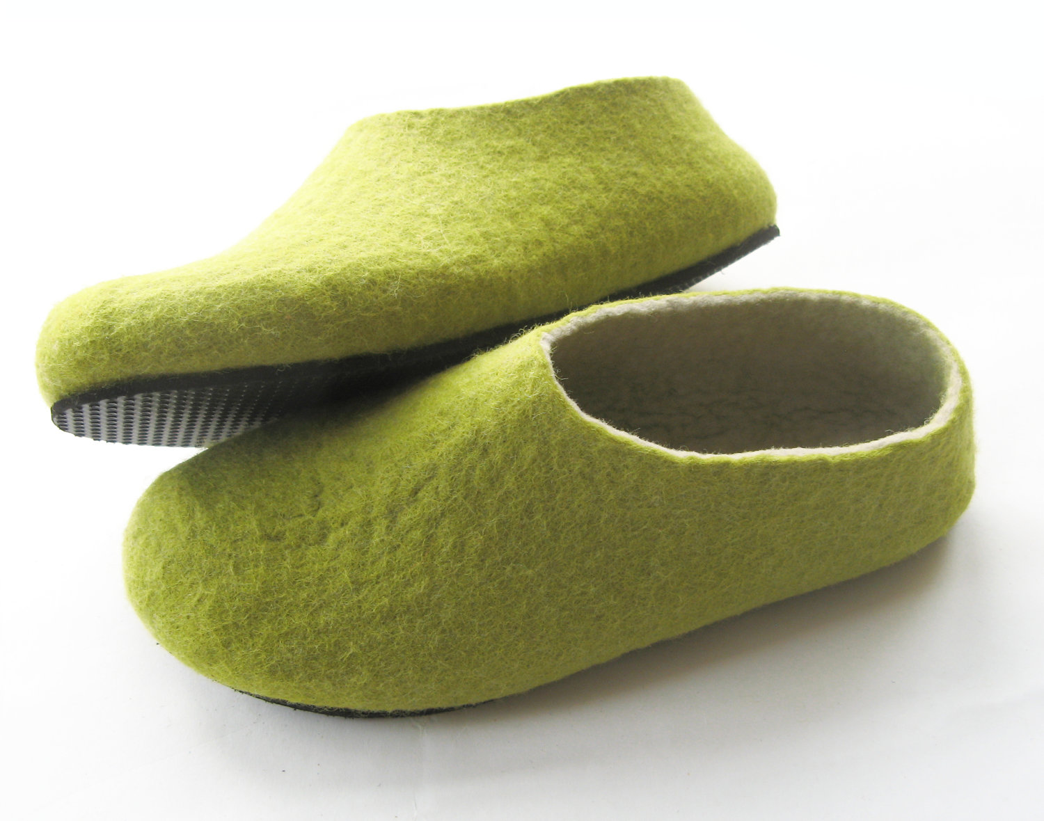fe286e05bbdfd Felted Wool Slippers, Wool Boots, Cat Beds: Cold Feet? Why not to ...
