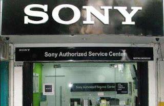 Alamat Service Sony
