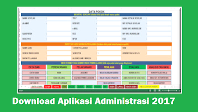 Download Aplikasi Administrasi 2017