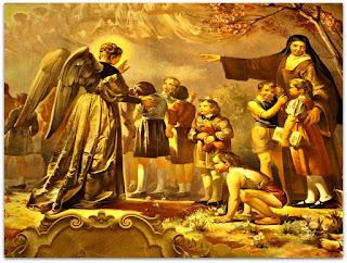 'Teresinha entre As Crianças', Aldo Locatelli (1955), Igreja Santa Teresinha