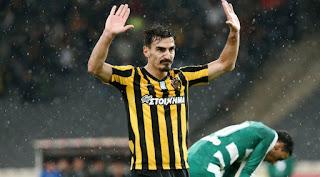 Ττα στιγμιότυπα του ΑΕΚ - Παναθηναϊκός 1-0 για την 3η αγωνιστική των play off