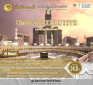 Umroh Khazzanah Tour Executif Bintang 5