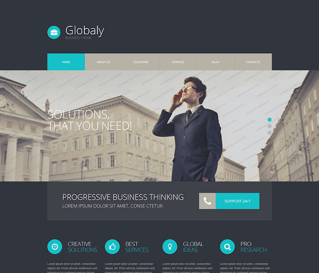 Free WordPress BusinessTheme