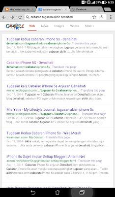 Senarai 70 Peserta Yang Layak ke Pusingan Akhir Cabaran iPhone 5S Denaihati