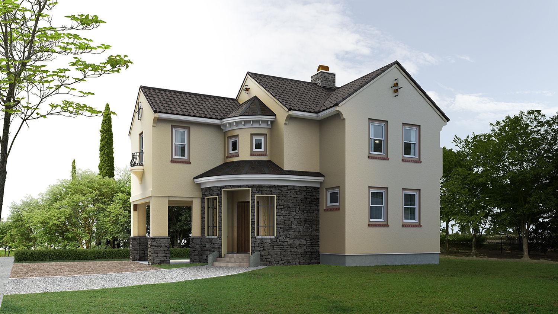 Fotos de casas bonitas for Casas modernas acogedoras