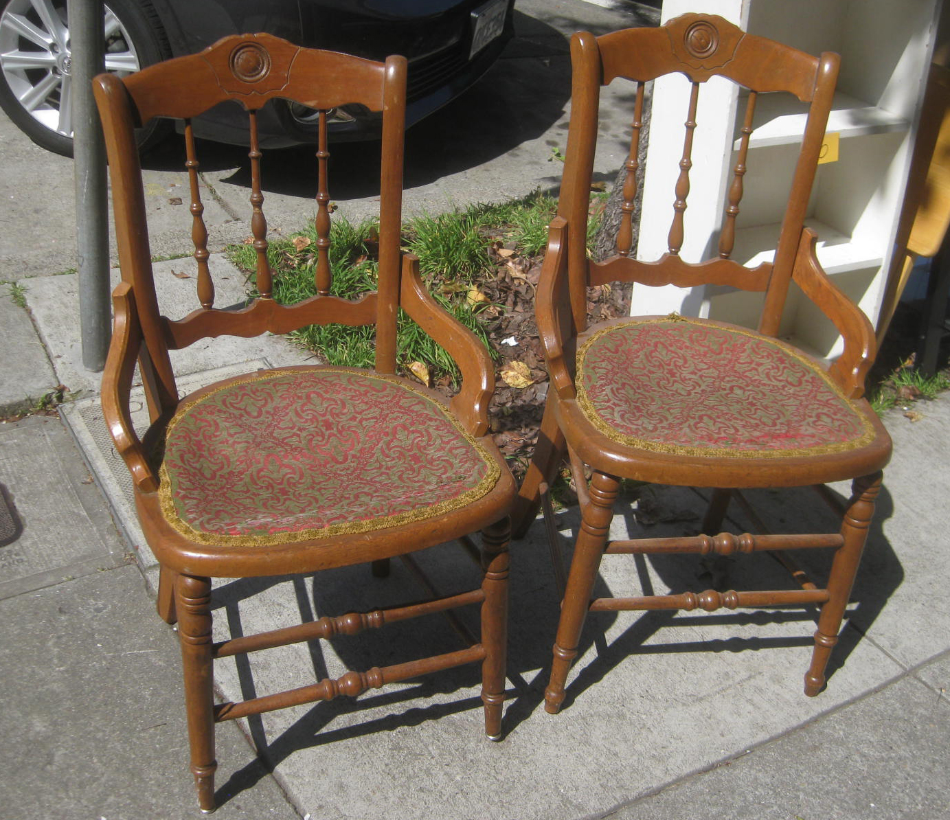 chairs for short people vintage cane chair uhuru furniture and collectibles sold old
