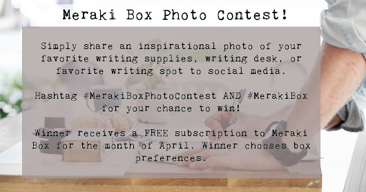 Meraki Box Photo Contest!