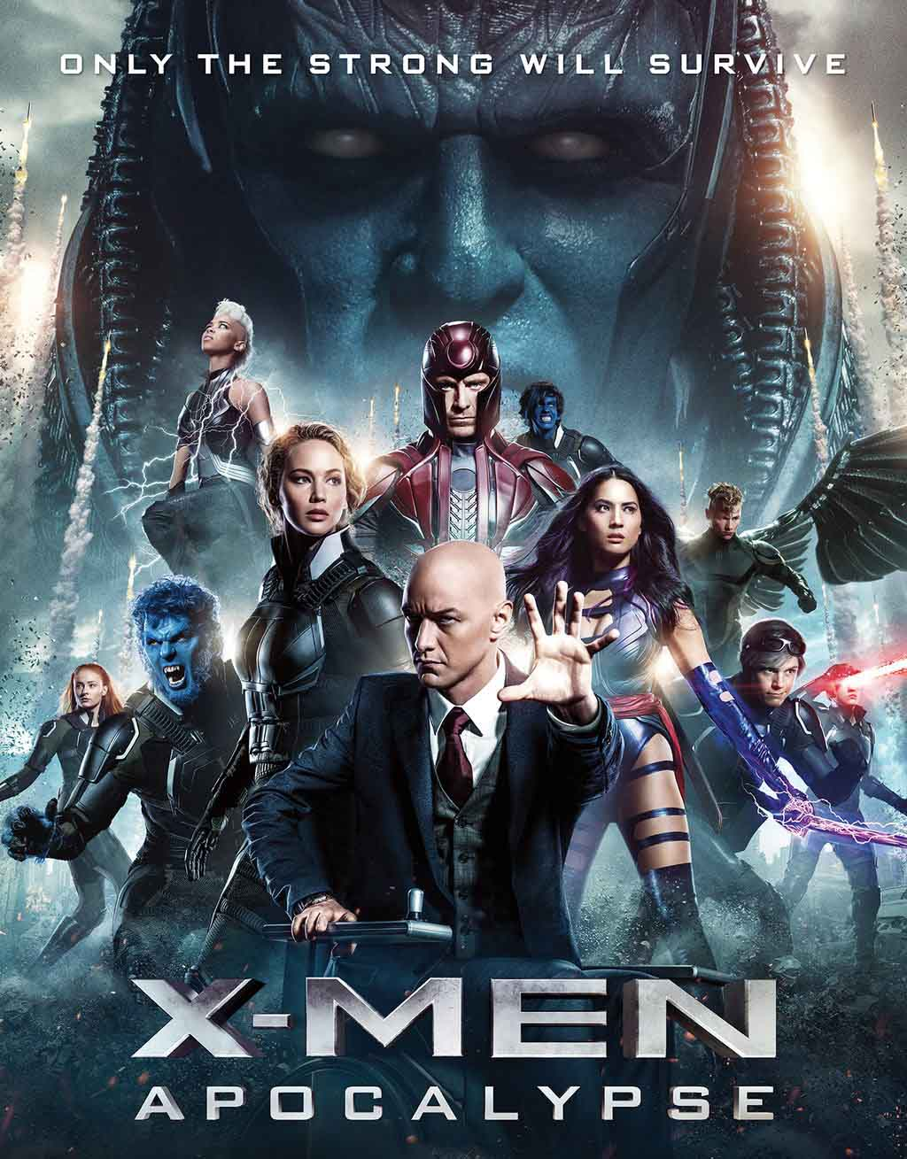X-Men: Apocalipse Torrent – BluRay 720p e 1080p Dual Áudio (2016)