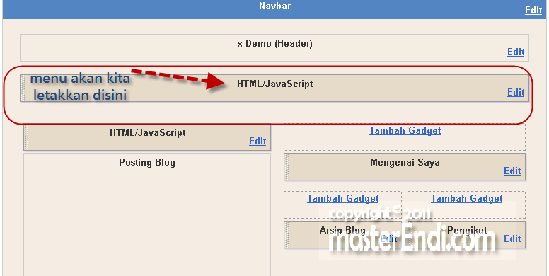 Cara membuat menu dibawah header blog gali potensi for Html header menu templates