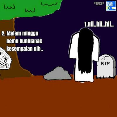 Komik Lucu 'Sundel Bolong' Ini Bikin Kaum Jones Ngakak