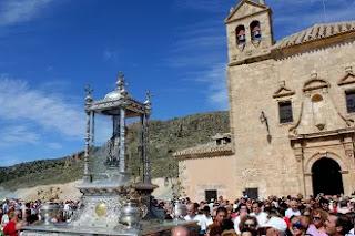 Albox, Santuario del Saliente, La Romería, Virgen del Saliente