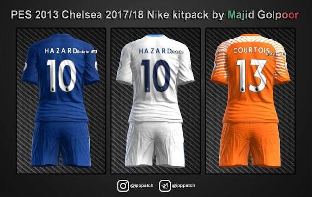 Chelsea 2017-18 Nike Kit PES 2013