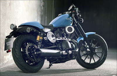 Yamaha Star XV950 Bolt rear look hd image