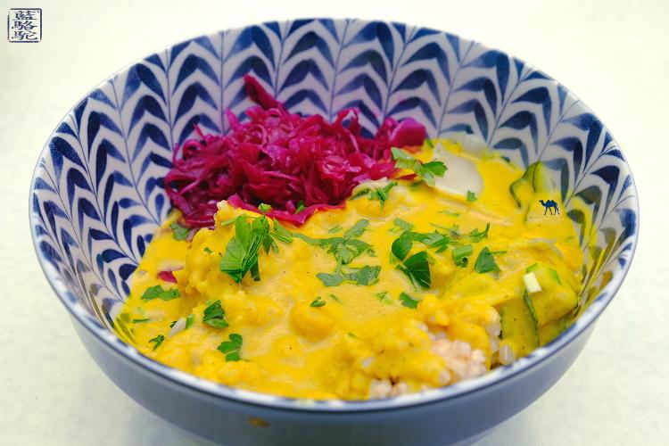 Le Chameau Bleu - Blog Voyage Restaurant Gand Belgique - Bowl végétarien Tibetan Mama du Botaniste Gand