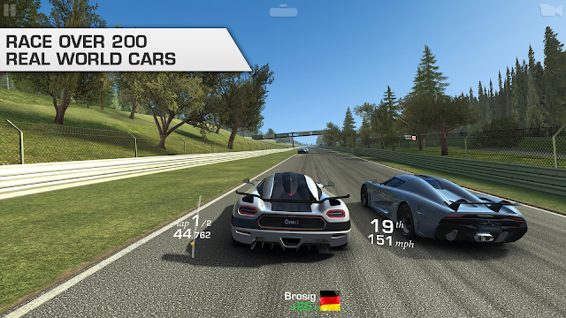 Download Real Racing 3 MOD APK Terbaru