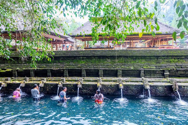 Tirta Empul Temple and Holy Springs