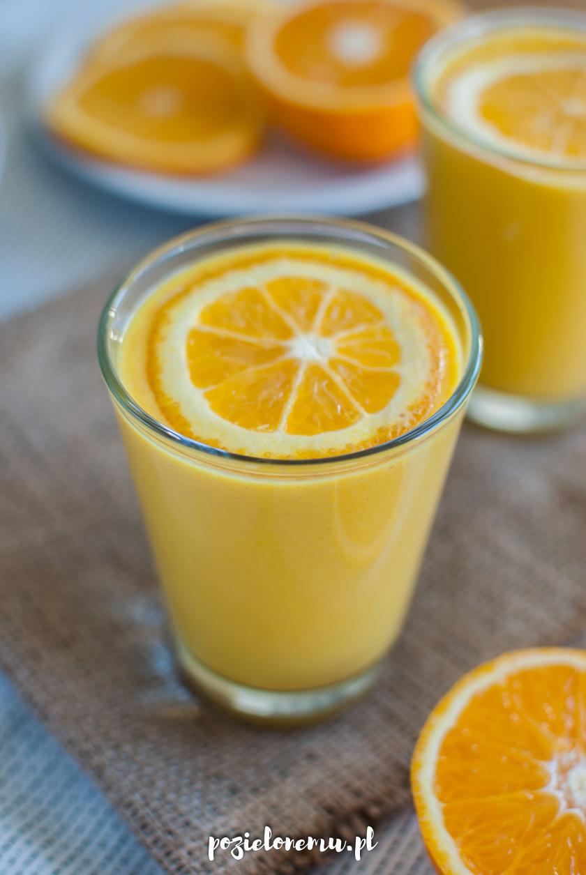 Smoothie pomarańczowo-dyniowe