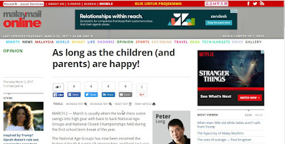 Malay Mail Online: So Long As The Children (And Parents) Are Happy!