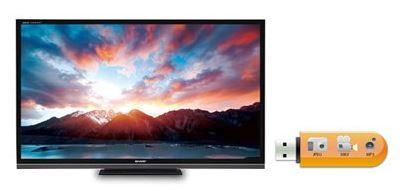 USB HDMI TV LED Sharp Aquos LC-32LE260 32 Inch