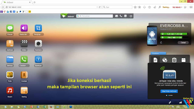 AirDroid: Transfer File Android dan PC Tanpa Kabel USB